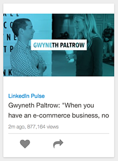 SlideShare featuring Gwyneth Paltrow