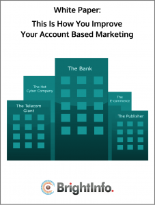 Personalized Account Based Marketing